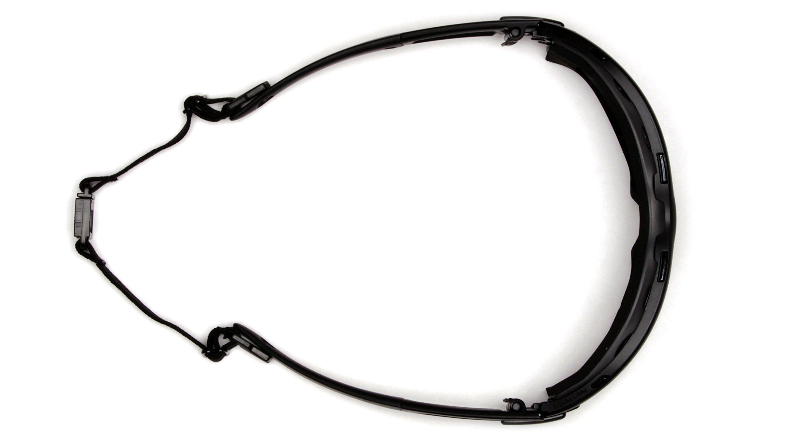 Pyramex I-Force Slim Safety Goggle, Black Frame/Amber Anti-Fog Lens by Pyramex (Image #4)