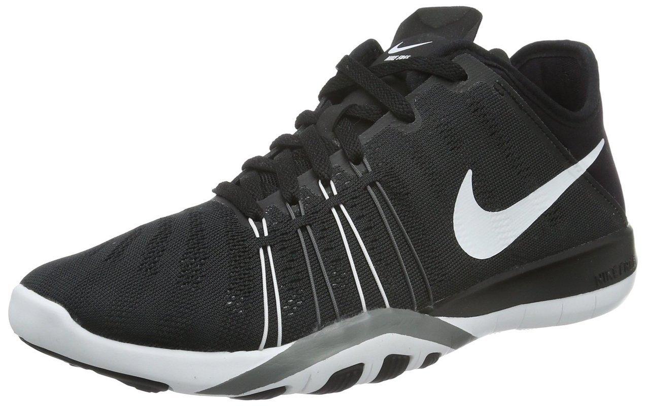 best sneakers d12dc b5855 Galleon - NIKE Women s WMNS Free TR 6, Black White-Cool Grey, 12 M US