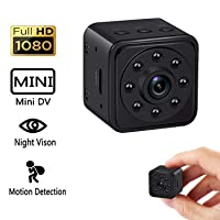 Deals on Dicphil HD 140 Degree Wide Angle Small Nanny Cam w/Night Vision
