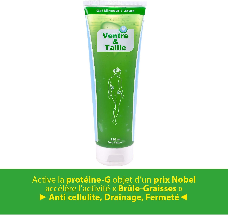 Anne Delona Gel anticelulítico Adelgazante reduce la grasas y reafirmante desde la primera aplicación, 1 x 250 ml