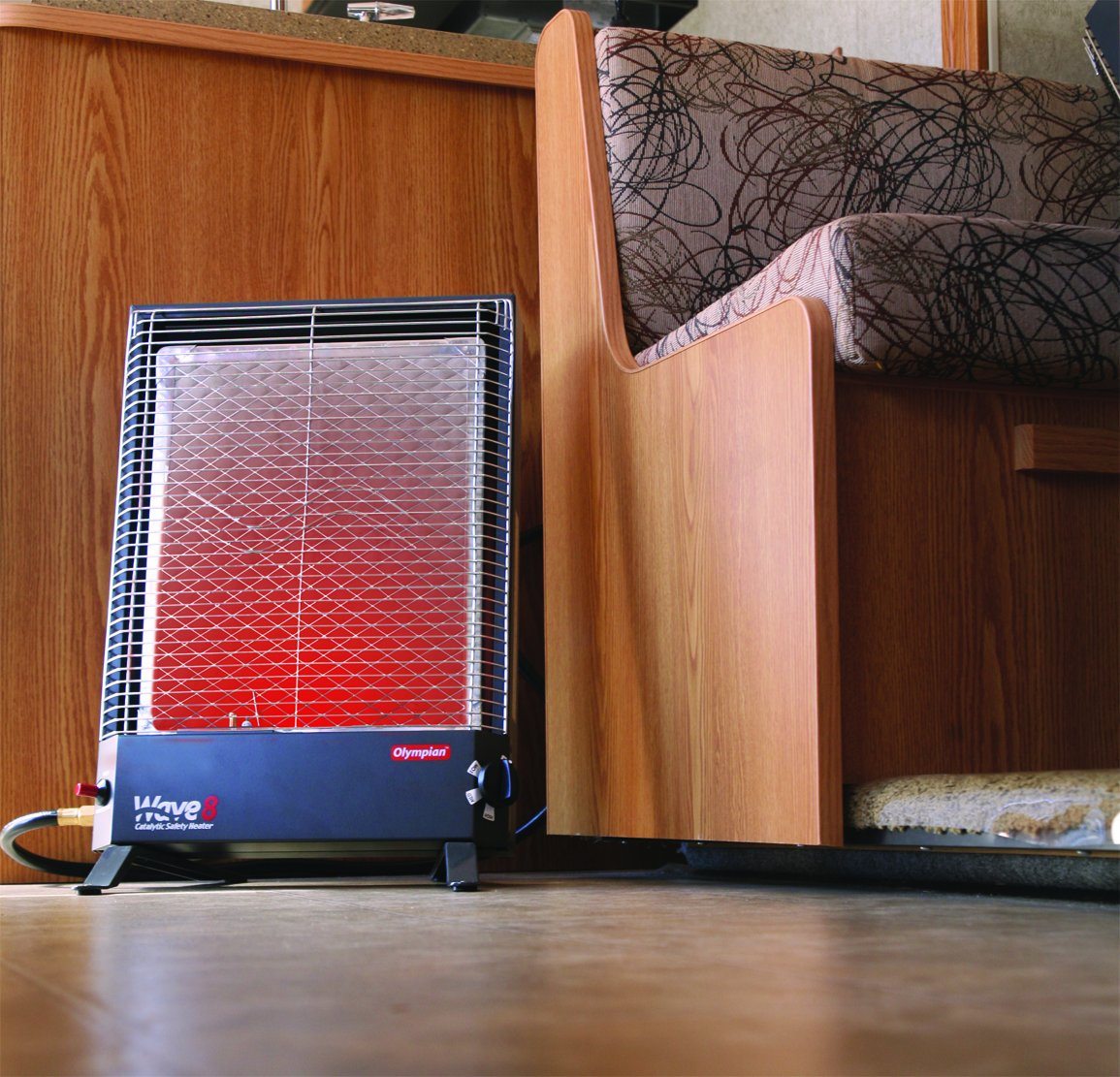 Camco 57351 Olympian Wave-8 8000 BTU LP Gas Catalytic Heater by Camco (Image #1)