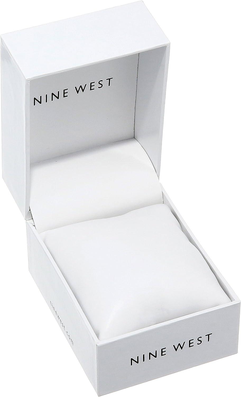 Nine West - Orologio da donna in gomma Bianco