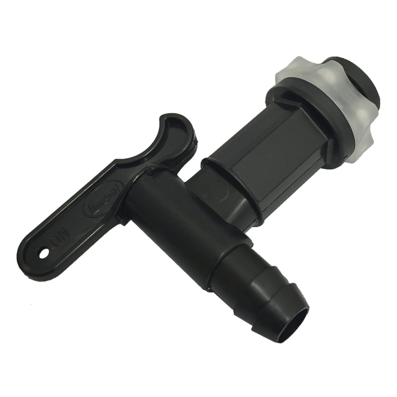 Water Butt Taps Black Plastic 3 Pc//S
