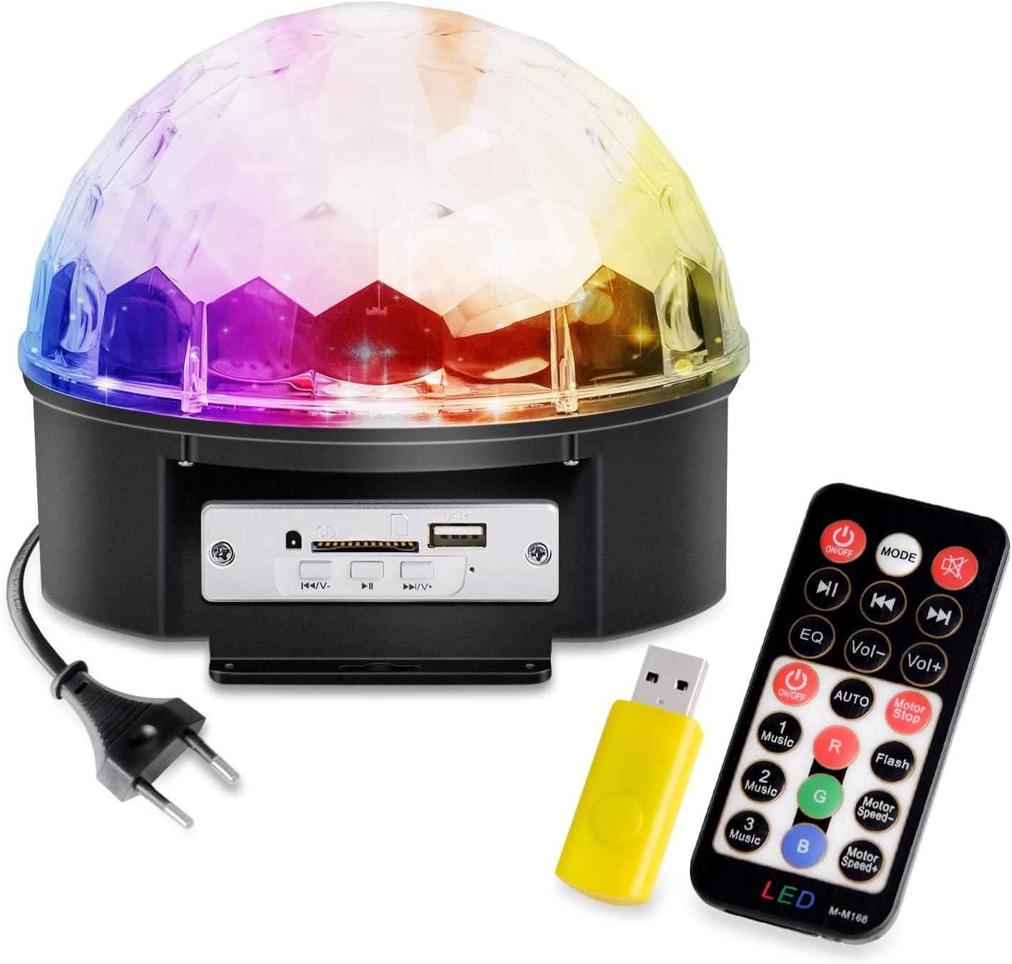 Bola de discoteca LED Chenci con USB para iluminación de ...