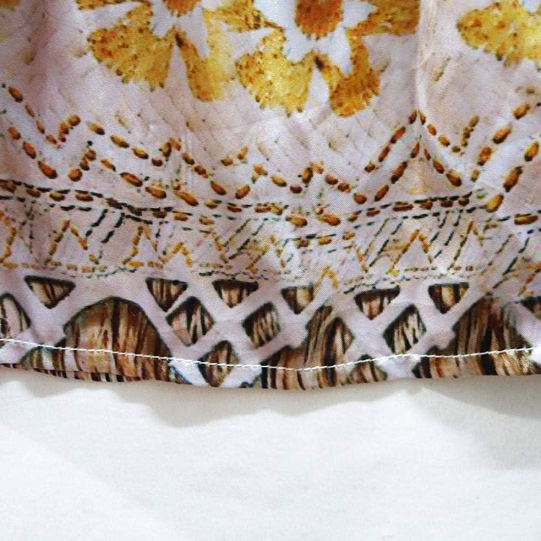 KaiCran Baby Clothes Girls,Little Girls National Style Dress Cartoon Sleeveless Vintage Dress Size 3-7 Years