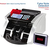 GOBBLER 7388-MV Business Grade Note Counting Machine with Fake Note Detection with Large LCD Screen | Counts All New & Old Notes