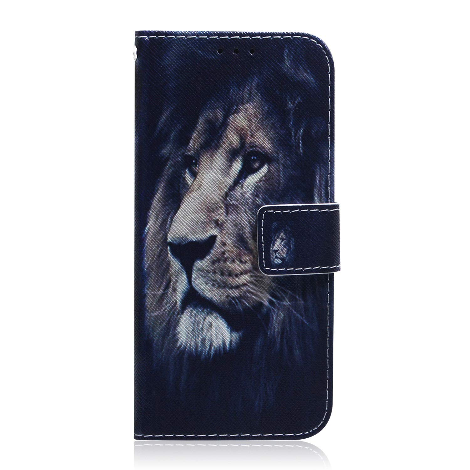 Reevermap Samsung Galaxy A10 Case Leather Shockproof Flip Wallet Magnetic Clasp Viewing Stand Function Notebook Bumper Cover for Samsung Galaxy A10 with Card Holder Panda