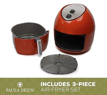 Amazon.com: Paula Deen 9.5 QT (1700 W) Freidora de aire de ...