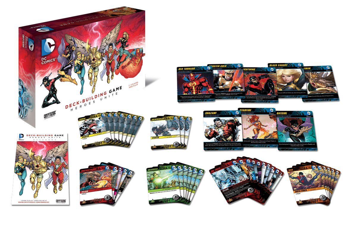 Heroes Unite Rejects from Studios CZE 01552 Cryptozoic Entertainment DC Deck-Building Game