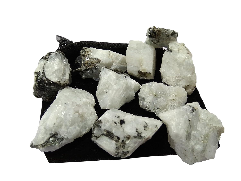 100/% Natural Flashy Rainbow Moonstone Raw Specimen Lot Big Size 20-40mm Amazing AAA Raw Rainbow Moonstone Rough Lot 250Cts 5-7 Pcs