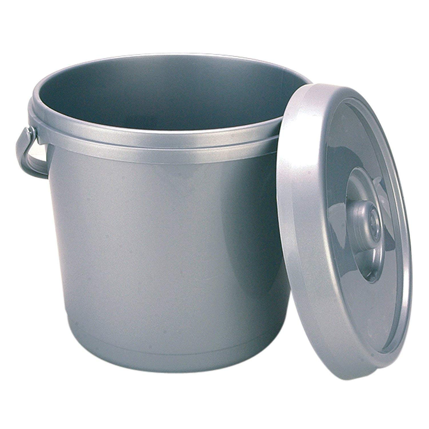 14 Litre Nappy Bucket in Black Other