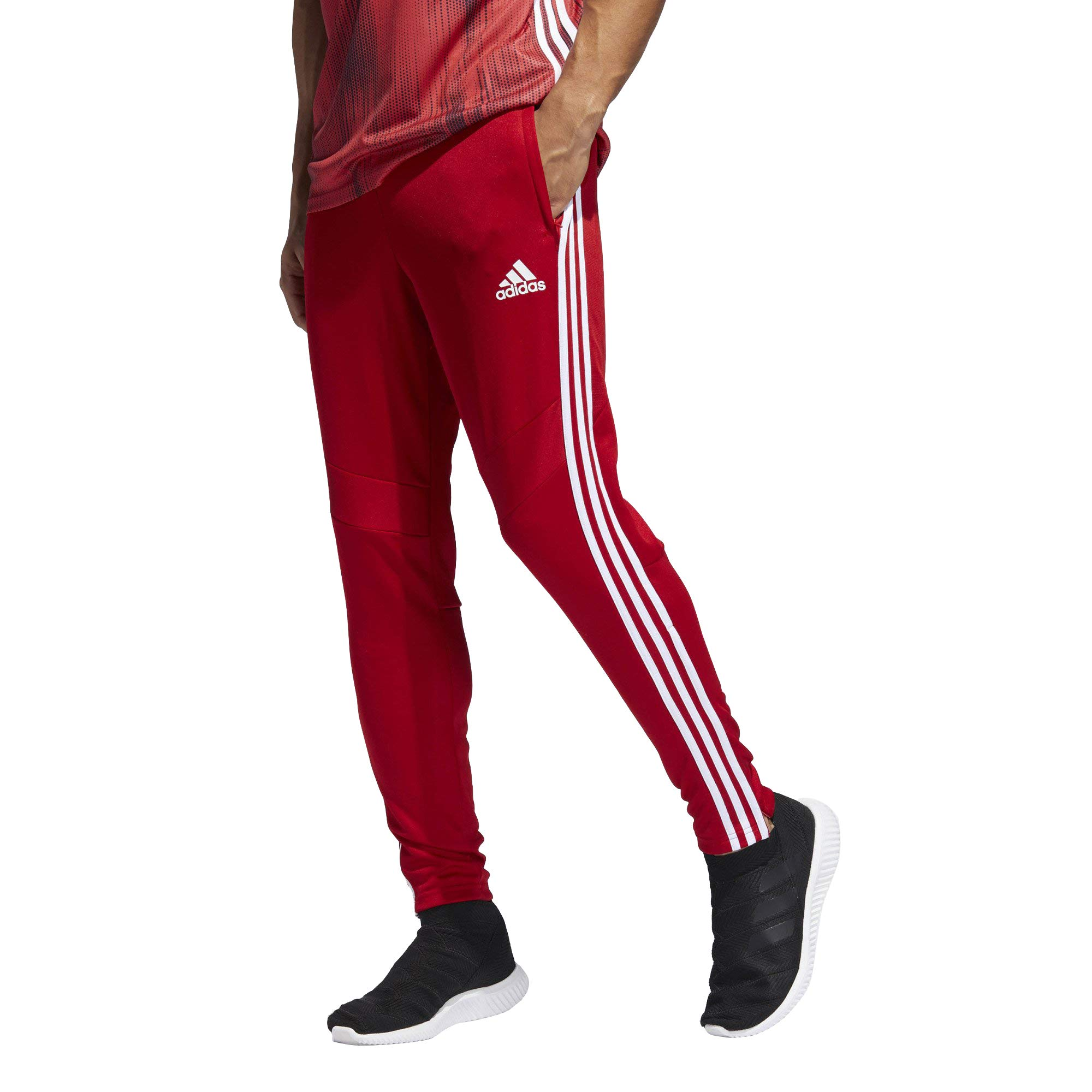 adidas Men's Soccer Tiro 19 Training Pant, Power Red/White, 3X-Large by adidas (Image #1)