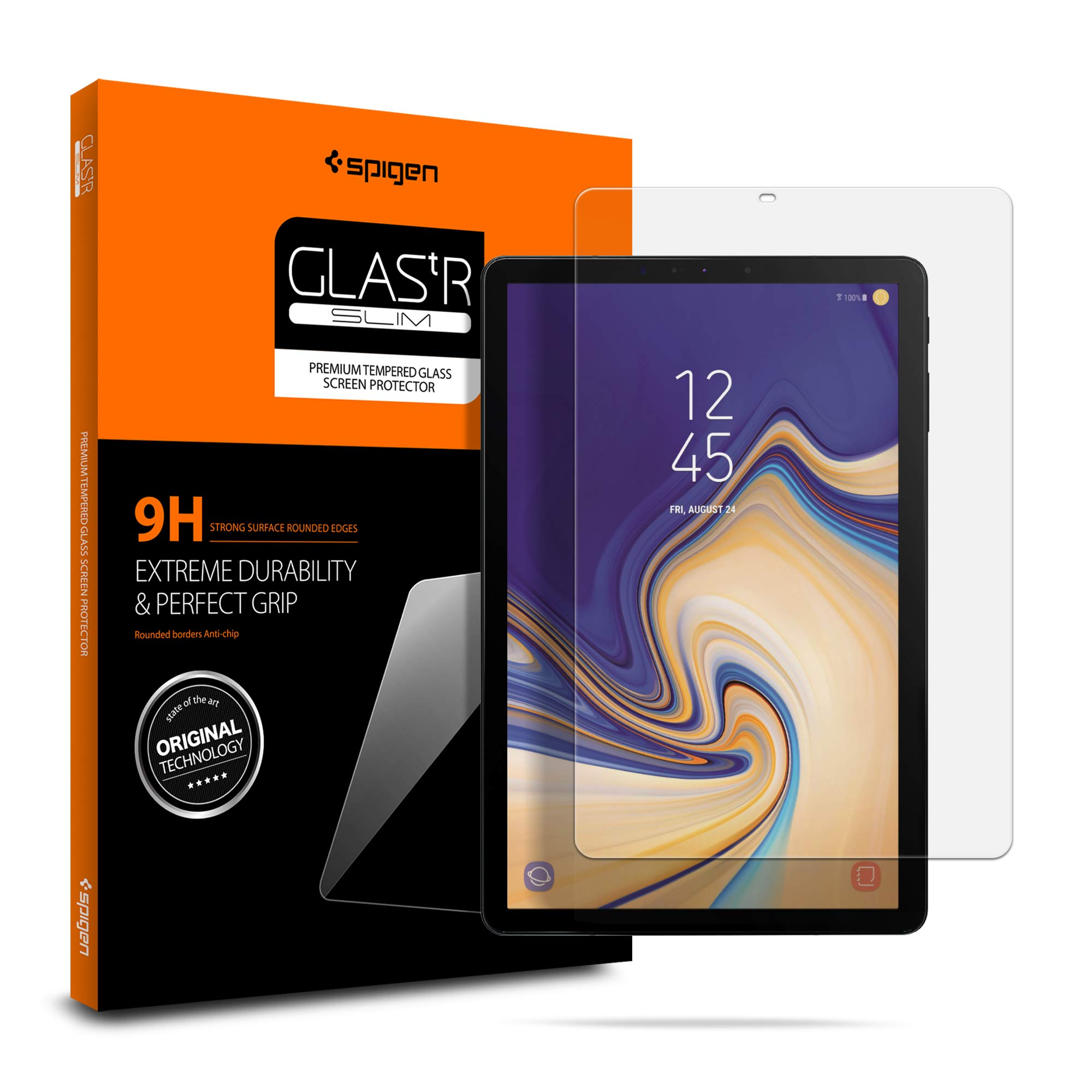 Spigen Tempered Glass Screen Protector Designed for Samsung Galaxy Tab S4 (10.5 inch) (2018 Release) by Spigen