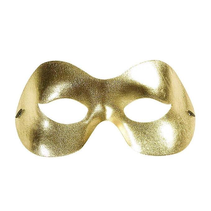 NET TOYS Máscara en Dorado Brillante Antifaz Carnaval Veneciano ...