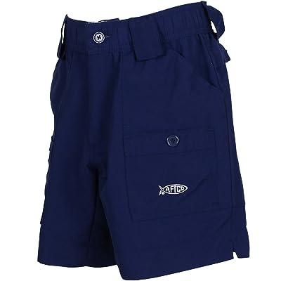 AFTCO Boys Original Fishing Shorts, Navy, size 22