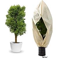 Yidaxing Winterbescherming voor planten, vorstbescherming, winterbescherming voor planten, 80 g/m², voor potplanten, met…