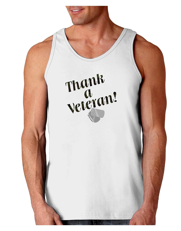 TooLoud Thank A Veteran Loose Tank Top