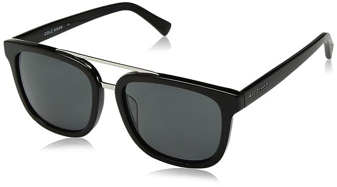 72839f83476de Amazon.com  Cole Haan Men s Ch6012 Plastic Square Sunglasses
