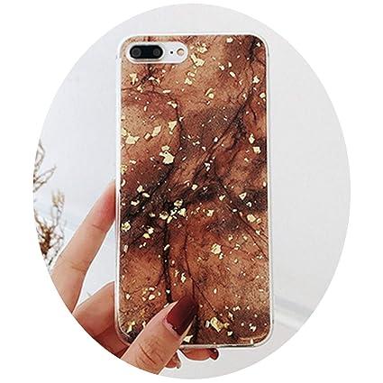 Amazon.com: Fashion Luxury Soft TPU Case for iPhone X 8 ...