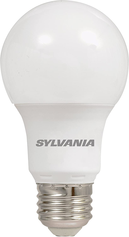 Amazon.com: SYLVANIA, equivalente a 60 W, bombilla LED, A19 ...