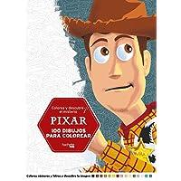 Colorea y descubre el misterio Pixar (Hachette Heroes - Disney - Colorear)