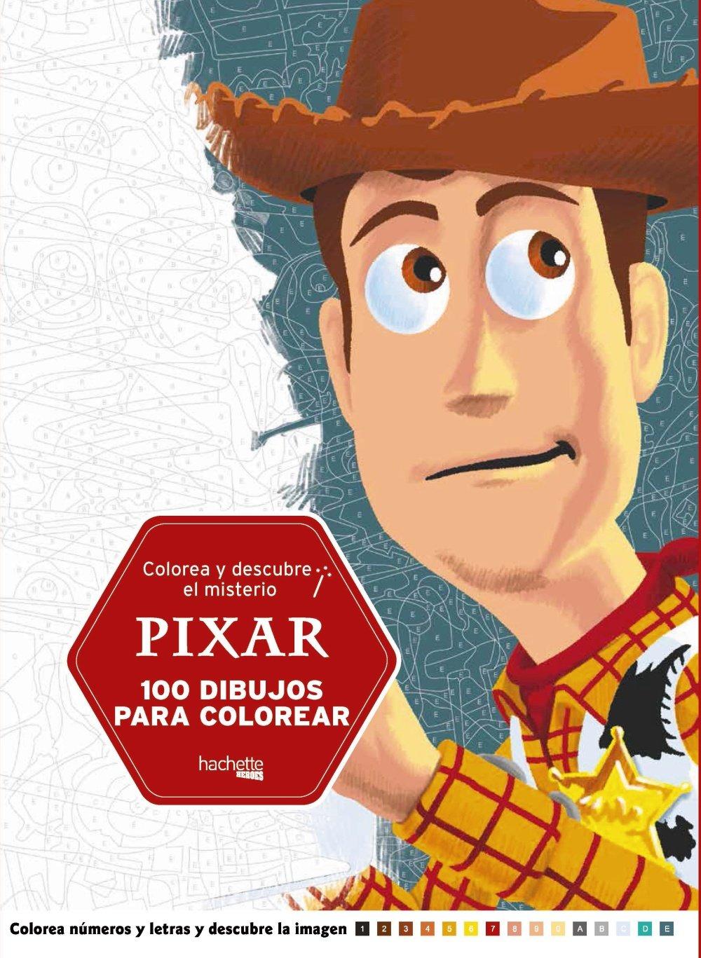 Colorea Y Descubre El Misterio Pixar Hachette Heroes Disney