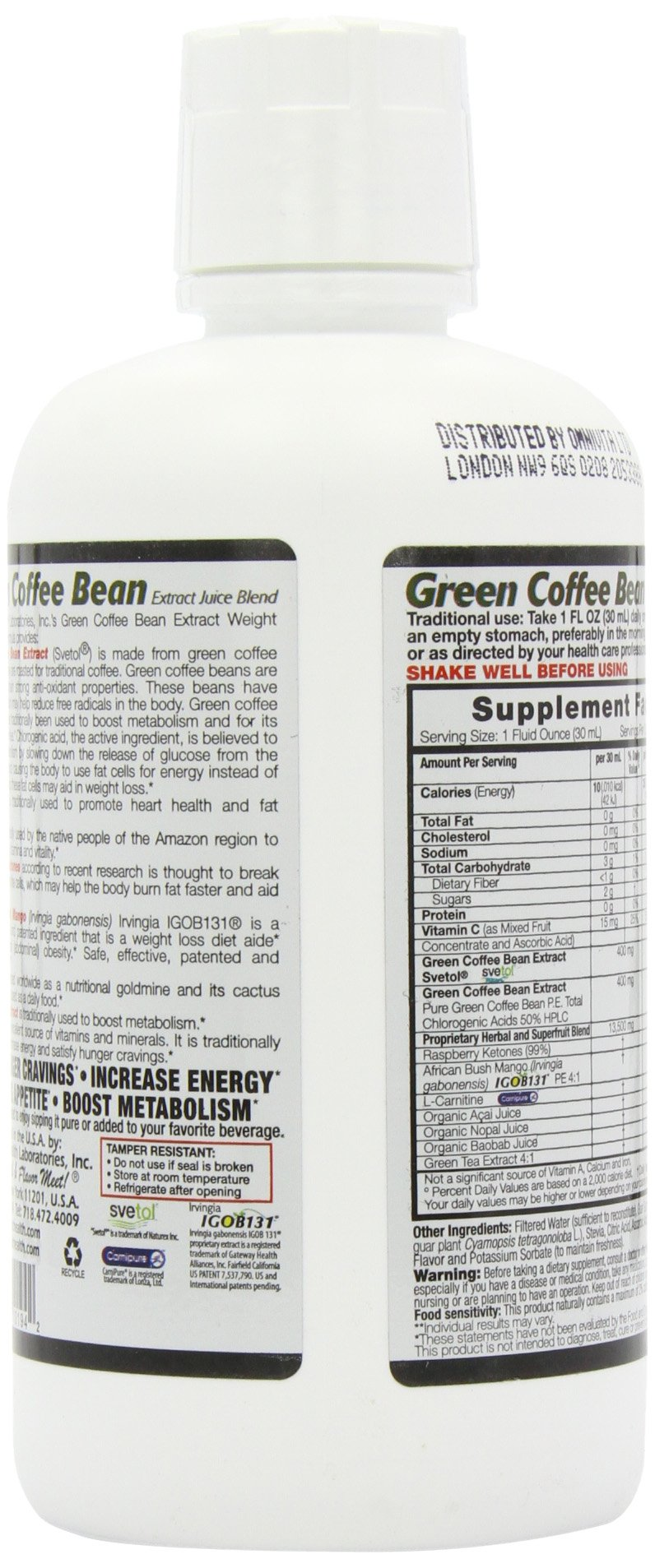 Dynamic Health Green Coffee Bean Juice Blend, 30 Fluid Ounce by Dynamic Health (Image #6)