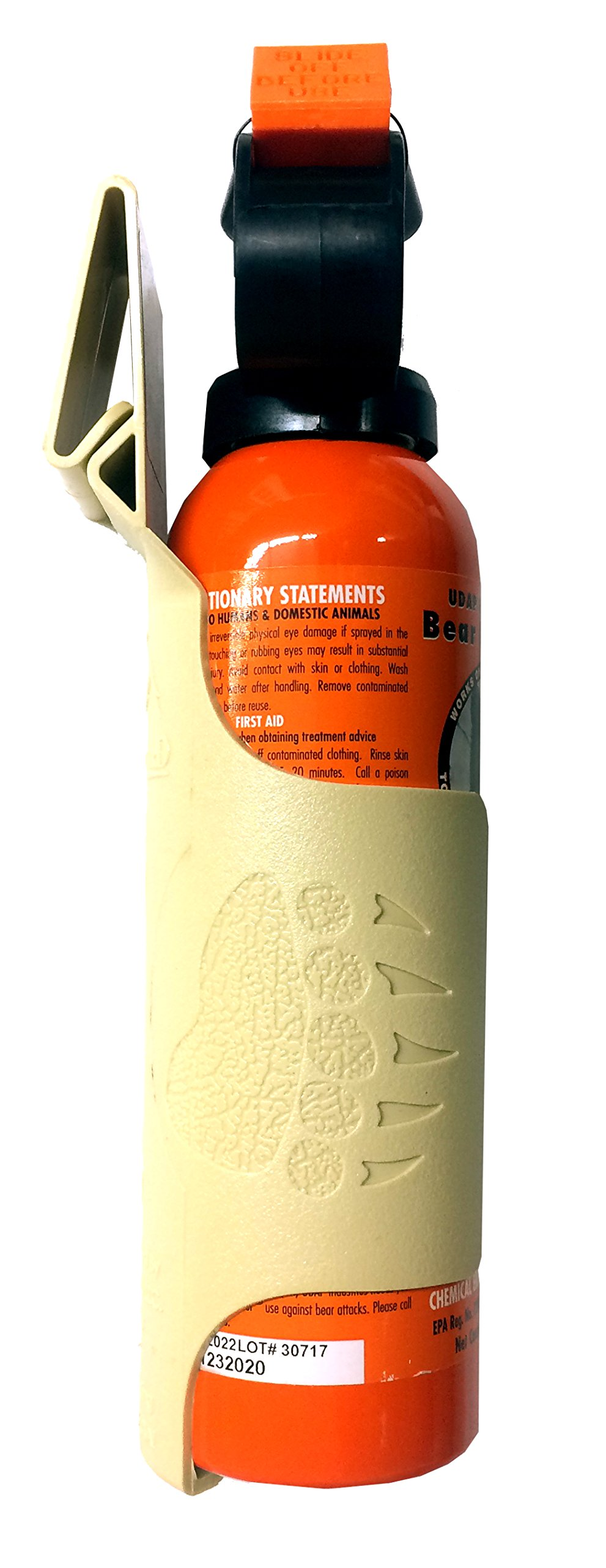 Udap Bear Spray Safety Orange with Griz Guard Holster (Sand) by Udap (Image #3)