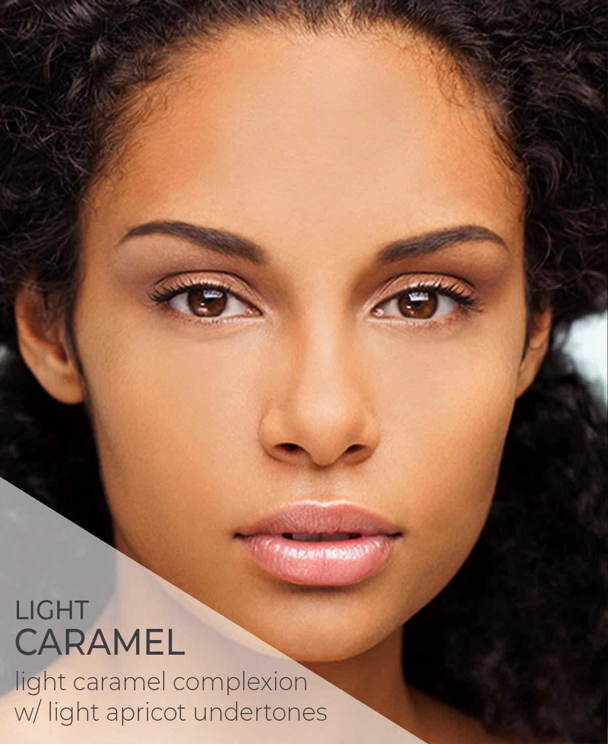 Amazon Com Amazing Cosmetics Amazing Concealer Multipurpose Full Coverage Concealer Light Caramel Premium Beauty