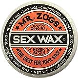 Mr. Zogs Original Sexwax - Cool Water Temperature Coconut Scented (White)