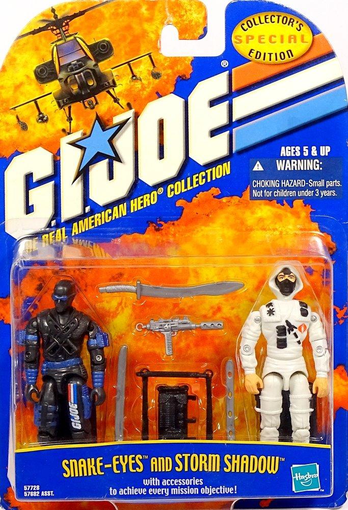 Snake Eyes and Storm Shadow GI Joe The Real American Hero ...