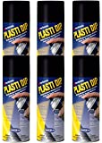6 PACK PLASTI DIP Mulit-Purpose Rubber Coating Spray BLACK 11oz Aerosol