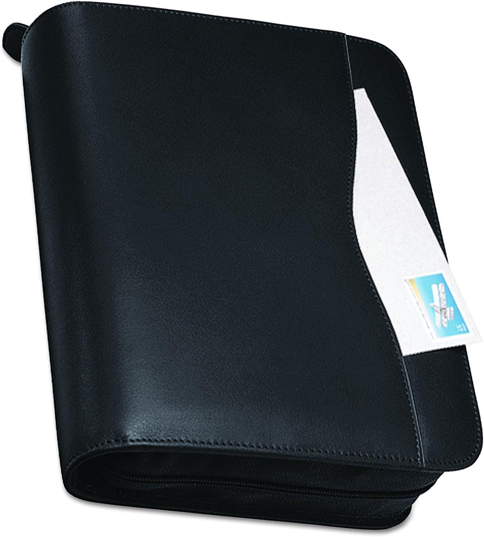 B00006GNXB Day-Timer 83151 Verona Leather Starter Set, 8 1/2 x 11, Black Cover 71gAO6sr2BJL