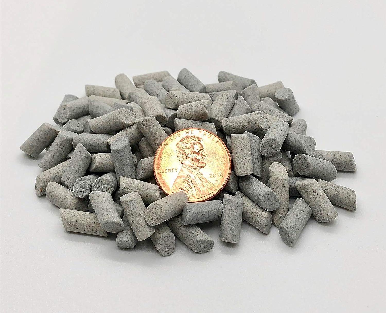 Surf Tumbling Media Small Cylinder Shape 3//16 x 3//8 in Reusable Bag Ceramic Fast Cut Deburr Tumbling Media 2.5 LBS