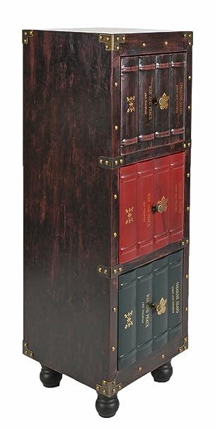 ts ideen kommode bucherregal schrank vintage antik buch design standregal british style