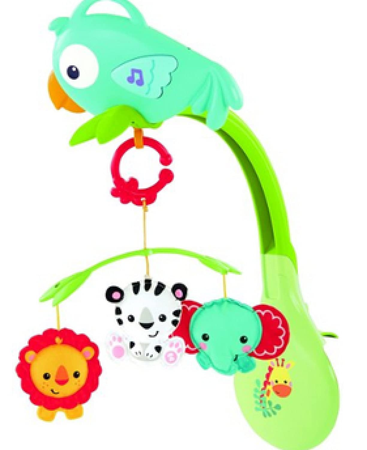Fisher-Price Rainforest 3-in-1 Musical Mobile [並行輸入品]   B0138KOY0A