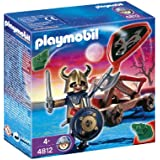 Playmobil - A0904964 - Figurine - Chevalier des Loups+Catapulte