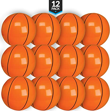 Amazon.com: Bedwina - Balones de baloncesto hinchables (12 ...