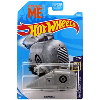 Hot Wheels 2020 HW Screen Time Despicable Me Minions Grumobile 70/250: Toys & Games
