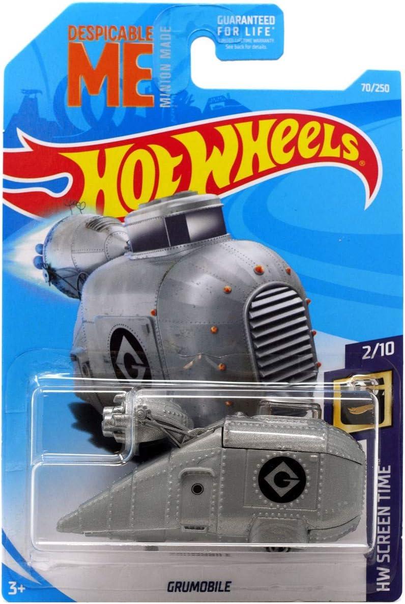 Amazon Com Hot Wheels 2019 Hw Screen Time Despicable Me Minions Grumobile 70 250 Toys Games
