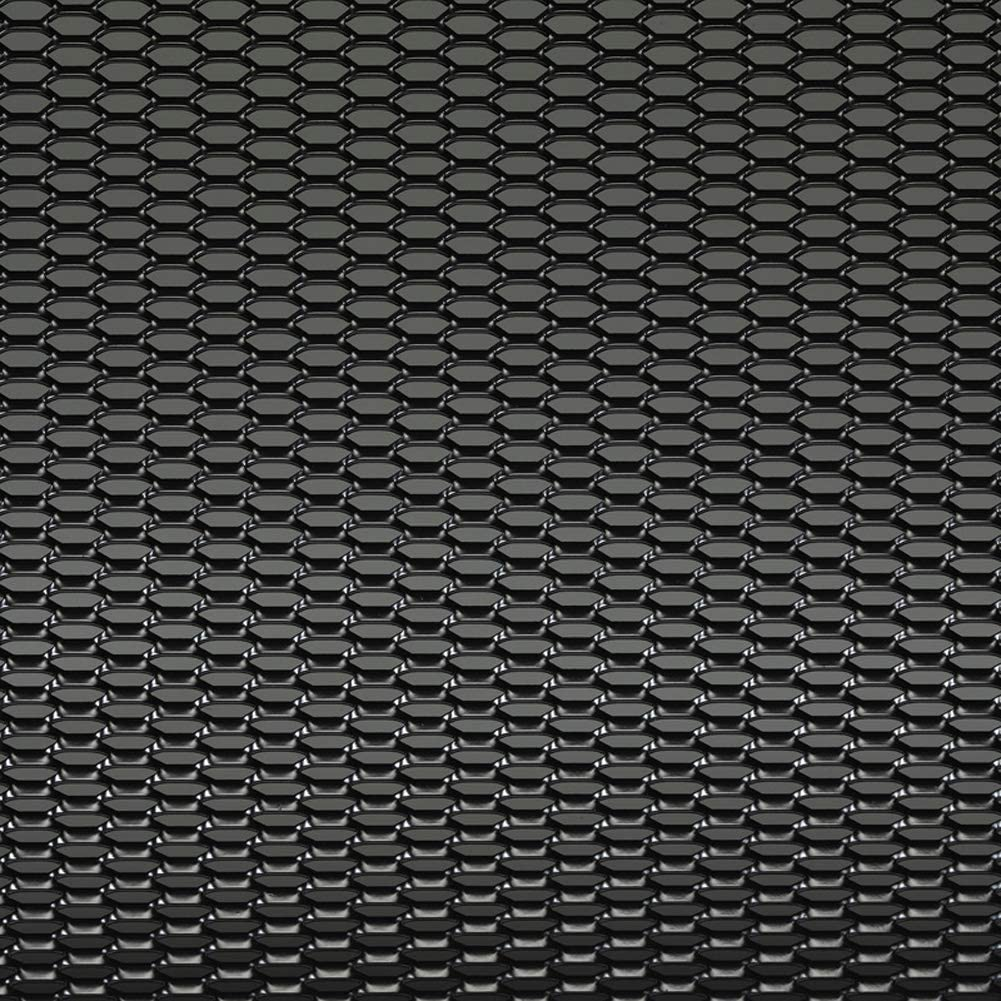 AutoStyle TG 1256Z - Malla de aluminio, 12 x 6 mm, color negro