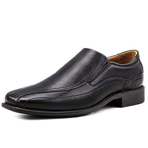 Shenji - Zapatos/Mocasines de Cuero para Hombre K8901-1 Negro 40: Amazon.es: Zapatos y complementos
