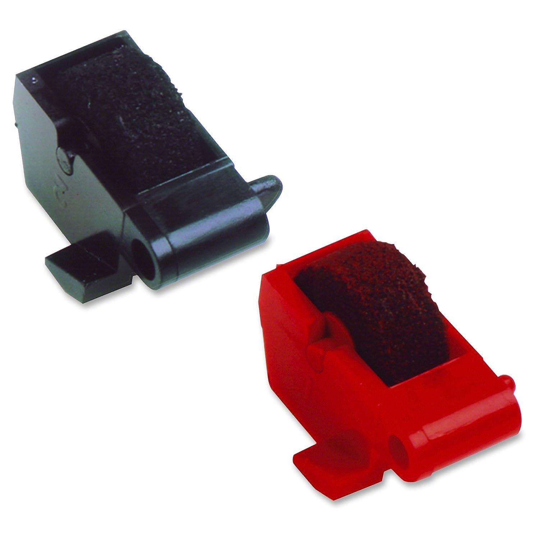 Superior Compatible Replacement Ink Rollers Cartridge For Sharp EL-1192BL EL-1192G EL-1701C EL-1801C EL-2129R EL-2192C EL-2192G II EL-2192P EL-2192R II EL-2195L Texas Instruments TI-5045 SVC Nukote NR-78BR Sharp EA781 1 X Black 1 x Red