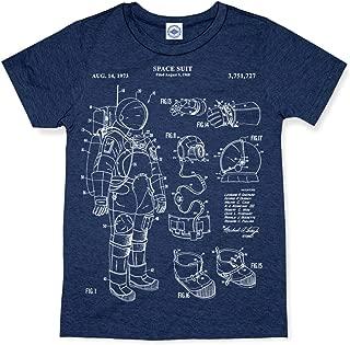 product image for Hank Player U.S.A. NASA Astronaut Space Suit Patent Men's T-Shirt