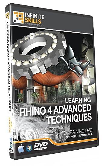 Amazon com: Advanced Rhino 4 Training DVD - Tutorial Video