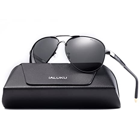 Review IALUKU Aviator Polarized Sunglasses