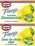 Dr. Oetker Finesse Geriebene Zitronenschale, 12g