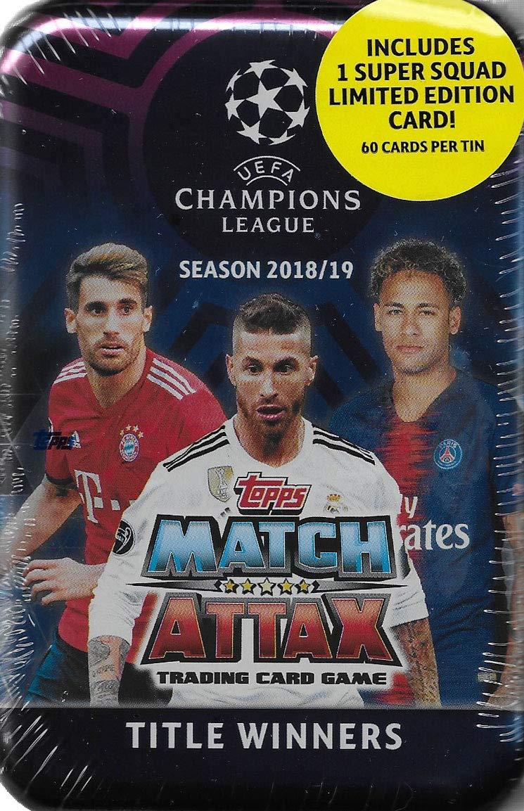 Match Attax 2018 2019 Topps UEFA Champions League - Juego de ...