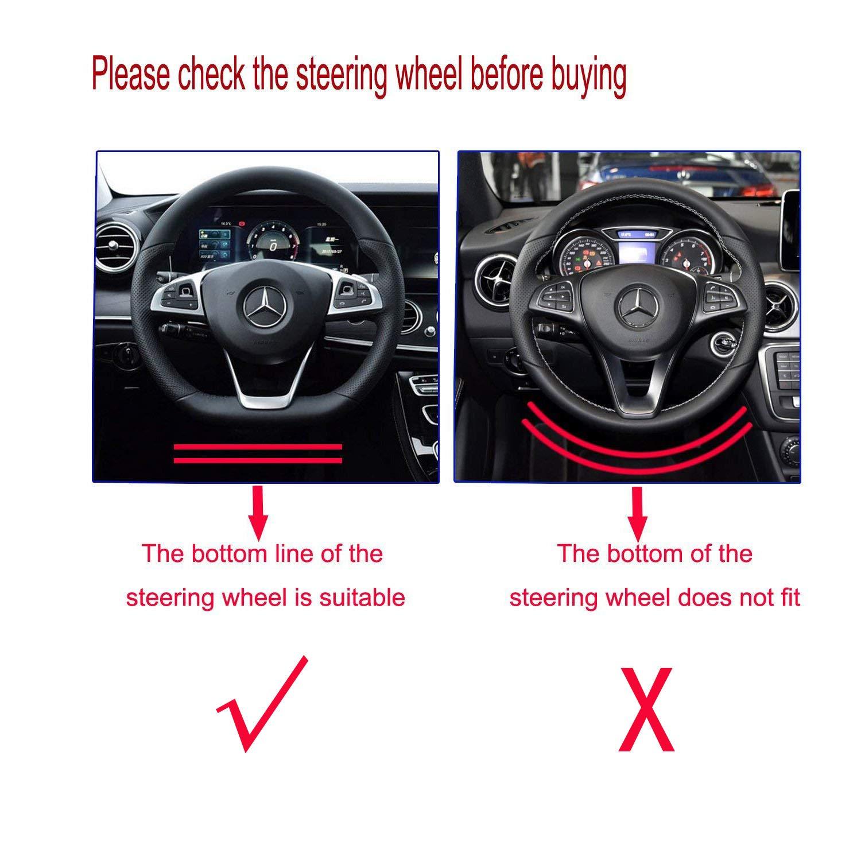 AMG Steering Wheel Emblem Decal Sticker Badge Decoration Logo For Benz 16 models 17 models E200L E300L New E class