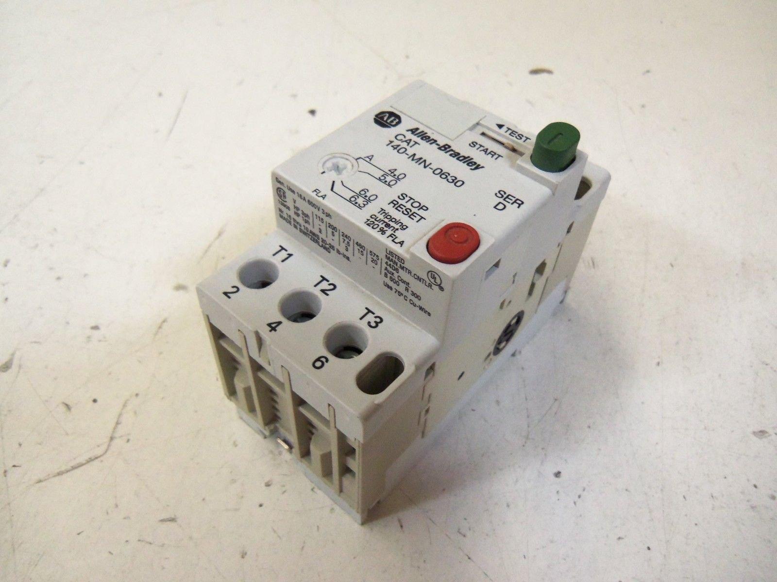 Allen Bradley 140-Mn-0630 Motor Starter